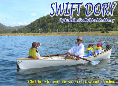 swift dory rowboat